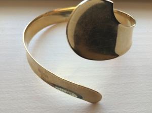 roxie & lou | gold cuff bracelet