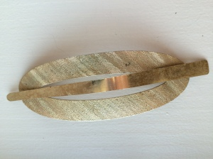 roxie & lou / two piece golden hair clip